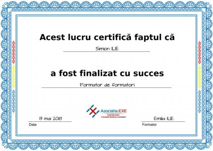 Certificat formator Training.EXE