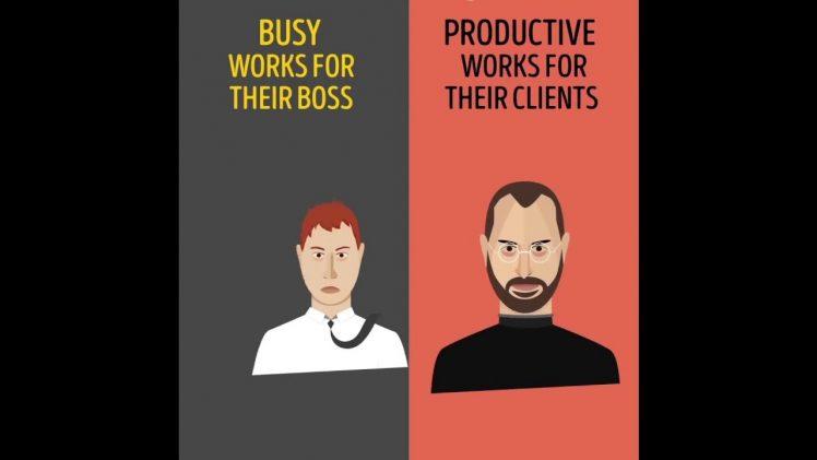 Ocupat sau productiv