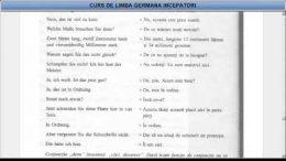 Curs de limba Germana incepatori  – Lectia 14