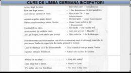 Curs de limba Germana incepatori – Lectia 18