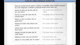 Curs de limba Germana incepatori – Lectia 27