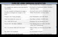 Curs de limba Germana incepatori – Lectia 12