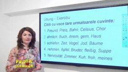 Pronuntie in limba germana