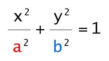 Ecuatia Elipsei – Cum se afla formula?