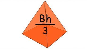 Volumul Piramidei – cum se află formula