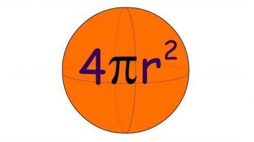 Aria sferei, cum se afla formula?