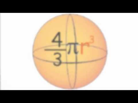 Volumul sferei – cum se obtine formula?