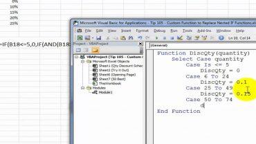 Cum sa inlocuiesti formulele IF imbricate in Excel ?