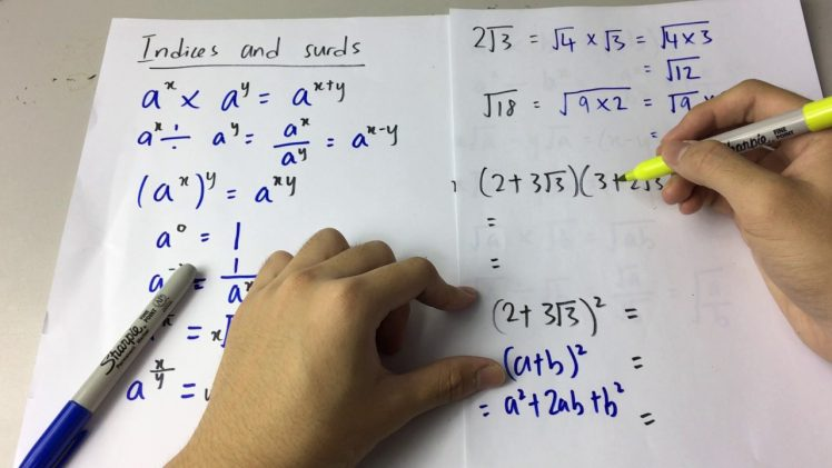 Indici matematici
