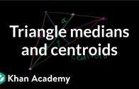 Mediana unui triunghi