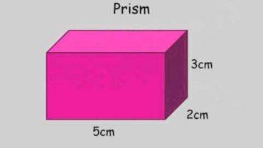 Volumul unei prisme