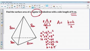 Aria tetraedrului