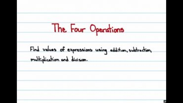 Cele 4 Operatii