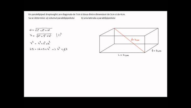 Cuboid(arie si volum)
