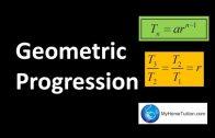 Progresia geometrica
