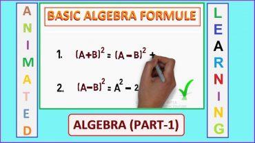 Formule algebrice