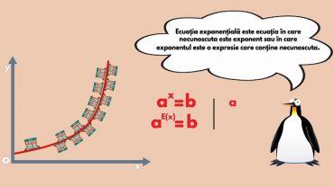 ecuatia exponentiala